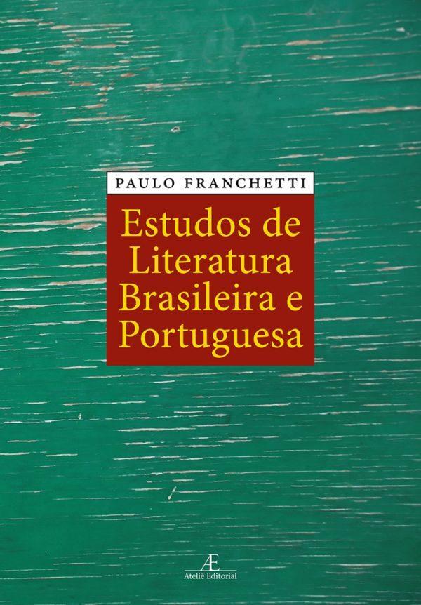 Livro Estudos da Literatura Brasileira e portuguesa